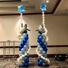 Balloon Pillars, Balloon Tower, Balloon Arch, Helium Balloons, Baby Shower Balloons, Balloons Galore, Balloon Crafts, Balloons And More, Balloon Arrangements