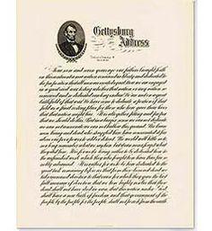 Gettysburg Address   <3<3<3 Gettysburg Address, Ancestry, Family History, Genealogy, Illinois, Man Cave, War, Vacation, Learning