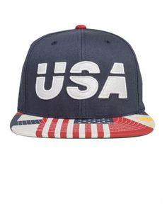 10 Deep - USA Snapback Cap - $34