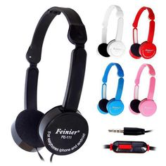 Foldable Portable Headphone Travel Game Headset 3.5mm Earphone With Microphone Wire Control  For Phone Children Kid MP3 MP4 iPad♦️ SMS - F A S H I O N 💢👉🏿 http://www.sms.hr/products/foldable-portable-headphone-travel-game-headset-3-5mm-earphone-with-microphone-wire-control-for-phone-children-kid-mp3-mp4-ipad/ US $4.99