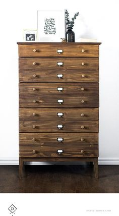 Love the Farmhouse Industrial look? Well then this IKEA West Elm Style Dresser Hack is for you. Step by step you will watch a plain piece of unfinished furniture become a Farmhouse Beauty with the perfect amount of card catalog style. You will only need a few extra supplies so it is very budget friendly. …