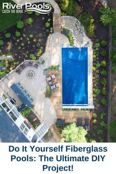 Thinking about DIYing your fiberglass pool project? Here's what you need to know! #diypool #fiberglasspools #ingroundpool Fiberglass Swimming Pools, Diy Pool, Pool Builders, In Ground Pools, Pool Ideas, Garden Ideas, Diy Projects, Backyard, Outdoors