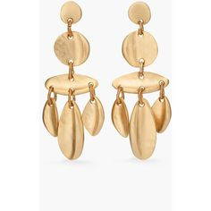 Omineca Gold-tone Earrings - one size Ariana Boussard-Reifel B3AFxK
