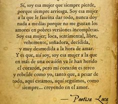 〽️ Poetisa Loca