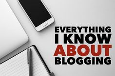 Everything I know about blogging, condensed into one epic, ultra-insightful blog post.