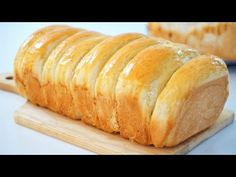 Soft And Fluffy Cream Cheese Loaf Bread - YouTube