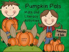 Freebielicious - Pumpkin Pals Letter and Number Concentration