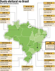Das 18 capitais que terão votação no segundo turno neste domingo (30), em no mínimo 11 delas a disputa deve ser definida com uma margem pequena de votos, segundo apontam pesquisas divulgadas pelo Ibope até sexta-feira (28). O instituto realizou pelo menos um levantamento em cada uma das cidades. (30/10/2016) #Política #Campanha #Brasil #Prefeitura #Capitais #Prefeito #Infográfico #Infografia #HojeEmDia