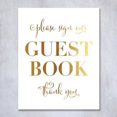 Guest Book Gold Foil Poster Sign Art Print Wedding Reception Seating Signage Bridal Shower Brunch & Bubbly Poster Decor 8 inches x 10 inches. Digibuddha(TM) real foil art prints are made by hand in our small shop just outside of Philadelphia. • Made with gorgeous luxe gold foil and premium pure white matte card stock. • Prints arrive unmatted, ready to be placed in your favorite frame. • Original design: all Digibuddha(TM) paper goods are exclusively created in-house by our design team.