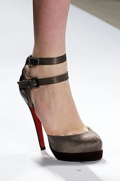 Fall 2008 Ready-to-Wear Peter Som #shoes