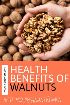 benefits of walnuts in the diet Benefits Of Eating Walnuts, Natural Home Remedies, Health Problems, Stay Fit, Almond, Healthy Eating, Diet, Breakfast, Easy