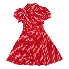 Red & White Polkadot Dress
