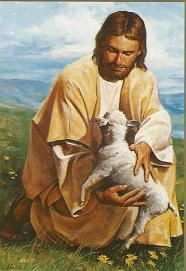 Jesus is The Shepard and we are the sheep.