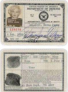 20 photos vintages de passeports de célébrités. #Stars #Passeport