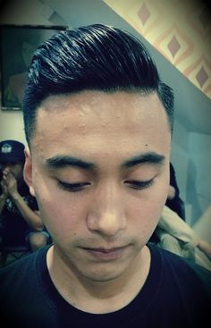 Great Haircuts, Haircuts For Men, Slicked Hair, Slick Hairstyles, Comb Over, Asian Men, Men's Fashion, Hair Cuts, Hair Styles