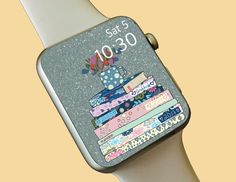 Watch Wallpaper / Apple Watch / FitBit / Smartwatch / Watch Background Best Apple Watch, Apple Watch Faces, Fitbit App, Share Icon, Star Watch, Apple Watch Wallpaper, Elegant Chic, Fine Watches, Simple Colors
