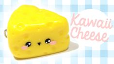 Kawaii Cheese Polymer Clay Tutorial