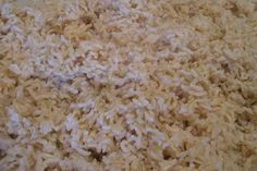 Evenly cooked, light, fluffy, separate, delicious grains of brown rice - the secret is oven (not stovetop) prep