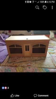 Dollhouse room box front