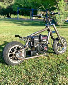 Mini Motorbike, Best Motorbike, Motorcycle Bike, Motorcycle Quotes, Custom Mini Bike, Custom Bikes, Triumph Motorcycles, Custom Motorcycles, Street Racing Cars