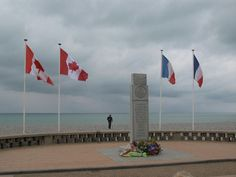 The memorial on the beaches of Dieppe honours the 3,300 Canadians killed, wounded or taken prisoner in the disastrous Allied amphibious attack on the French coast.