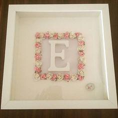 Items similar to Baby Girl Framed Gift on Etsy
