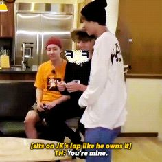 """Jhope in the back like """" that's mine man jungkook you better back the fuck up"""""""