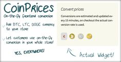Shopping CoinPrices -Bitcoin, Dogecoin, Litecoin conversionyou will get best price offer lowest prices or diccount coupone
