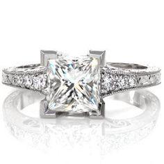 Design 2885 - Filigree Engagement Rings - Barcelona