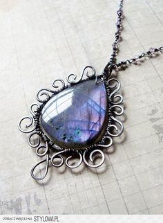 Handmade Wire Jewelry Ideas- its good to add a lil color to your steam punk outfit...