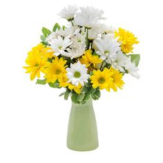 Orange rocks in burlington vt kathy and company florist white yellow daisy greenery spring summer get mightylinksfo