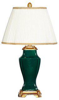 Palace Table Lamp, Deep Emerald