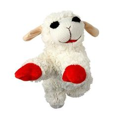 Multipet INTERNATIONAL Lambchop Plush Squeak Toy Mini for Pets 6Inch 2Pack >>> Continue to the product at the image link.