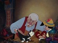 Screencap Gallery for Pinocchio Bluray, Disney Classics). Inventor Gepetto creates a wooden marionette called Pinocchio. His wish that Pinocchio be a real boy is unexpectedly granted by a fairy. Disney Amor, Arte Disney, Disney Love, Disney Pixar, Universal Studios, Dreamworks, Pinocchio Disney, Disneyland, 2d