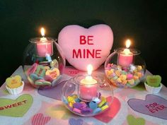 Valentine's Day Clearly Creative Idea DIY by Partylite..need the set or more candles? www.partylite.biz/yvonnesavoy