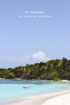Travel Here: The US Virgin Islands, St Thomas - Paper & Stitch