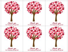 We love these printable cards!