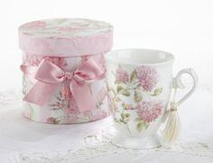 Porcelain Coffee Mug in Gift Box - Pink Hydrangea Delton http://www.amazon.com/dp/B00DCVQHFG/ref=cm_sw_r_pi_dp_bebZub0R1P52C