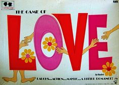 Vintage board games - The game of Love