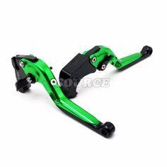 Motorcycle CNC Billet Aluminum Folding Extendable Brake Clutch Levers For honda Shadow 600cc cb1300 cb400 cbr 250 cbr250r cr250 #Affiliate