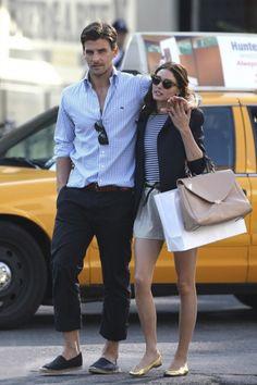 stylish couple- olivia palermo and johannes huebl