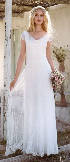 ~ Sarah: Rembo Styling bridal gowns and wedding dresses #rembostyling #bohemian…
