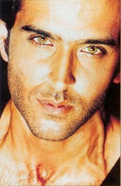 Hrithik Roshan... I believe this man to be the most stunning man I have ever seen! Wowowow!