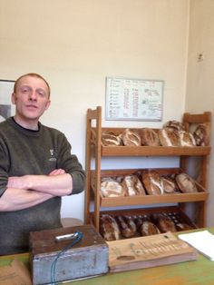 local baker in Molitg, France, visited by Tia Ingle ([@]tiaingle). Photo pinned with her permission.