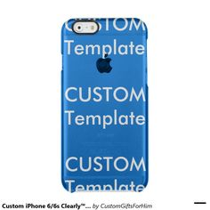 Custom iPhone 6/6s Clearly™ Deflector Phone Case Uncommon Clearly™ Deflector iPhone 6 Case