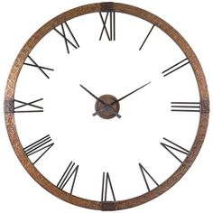 This eye-catching style brings classic charm and contemporary allure to your home decor.   Product: Wall clockConstructio...