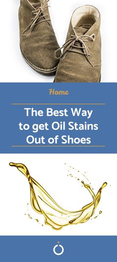 Oil stains can become almost indelible on shoes. If you're wondering how to remove oil stains from shoes, be them leather or suede, keep reading here. Oil marks on shoes can be removed by.
