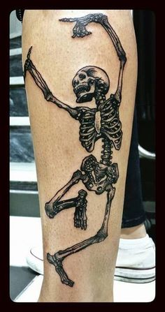 I want the skeleton tattoo but with an heart inside its chest. Like a real heart