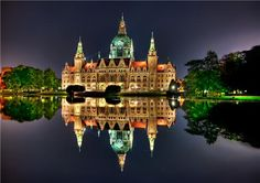 Neues Rathaus, Hannover, Germany