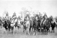 Nez Perce men – 1897